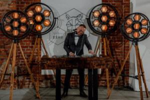 Najlepszy DJ na wesele w stylu rustykalnym, Tektura Boho